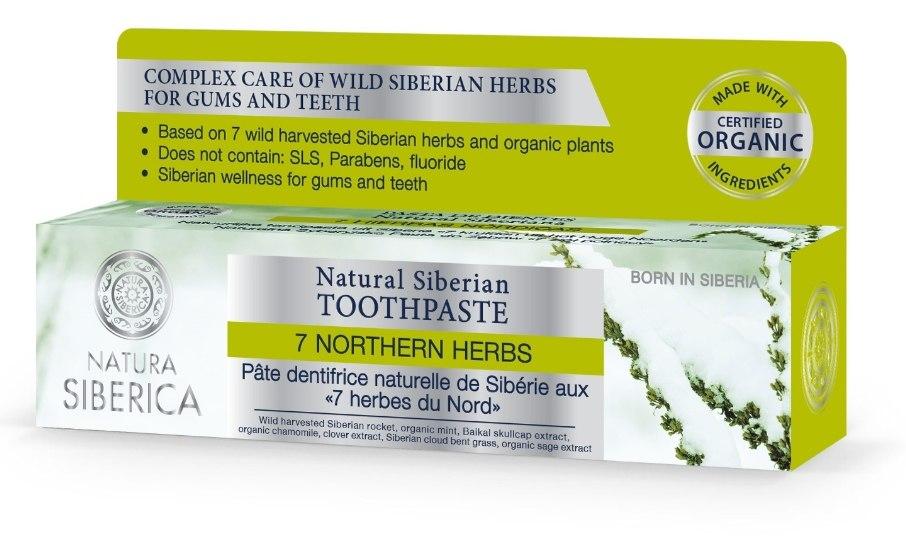 Prírodná sibírska zubná pasta - 7 sibírskych bylín 100g