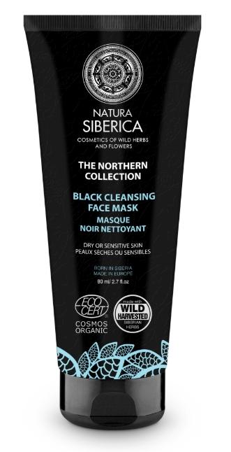 Severská čierna maska na tvár 80ml