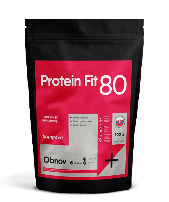 ProteinFit 80 500g banán