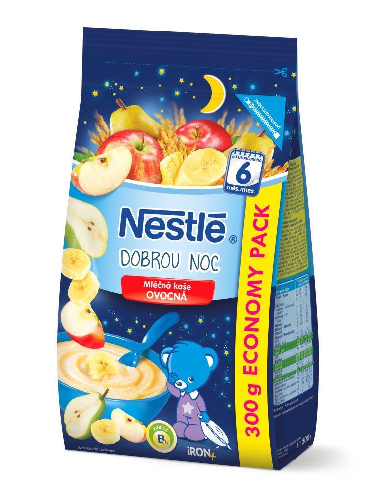 Nestlé Mliečna kaša OVOCNÁ - Dobrú noc 1x300 g