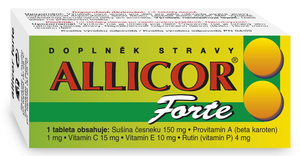 NATURVITA ALLICOR FORTE 60 tbl
