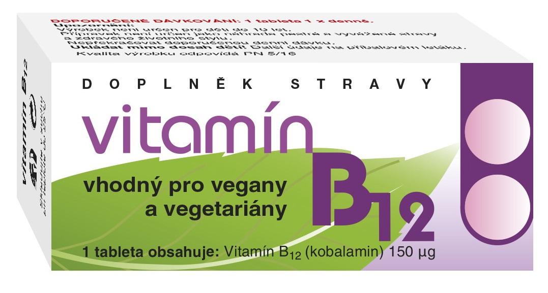 NATURVITA Vitamín B12 60tbl