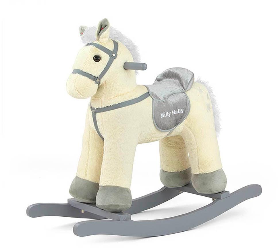 Hojdací koník Milly Mally PePe béžový