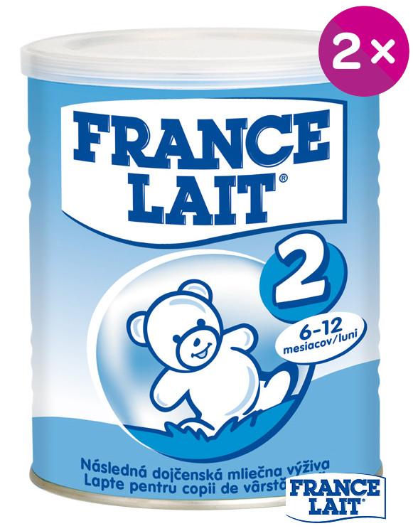 France Lait 2 Duopack + darček