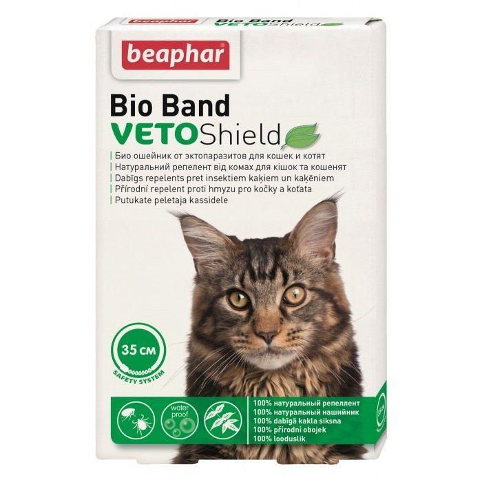 Beaphar Bio Band Veto Shield Repelentný obojok 35cm