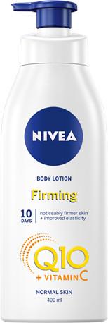 Nivea Q10 + Vitamin C Spevňujúce telové mlieko 400ml