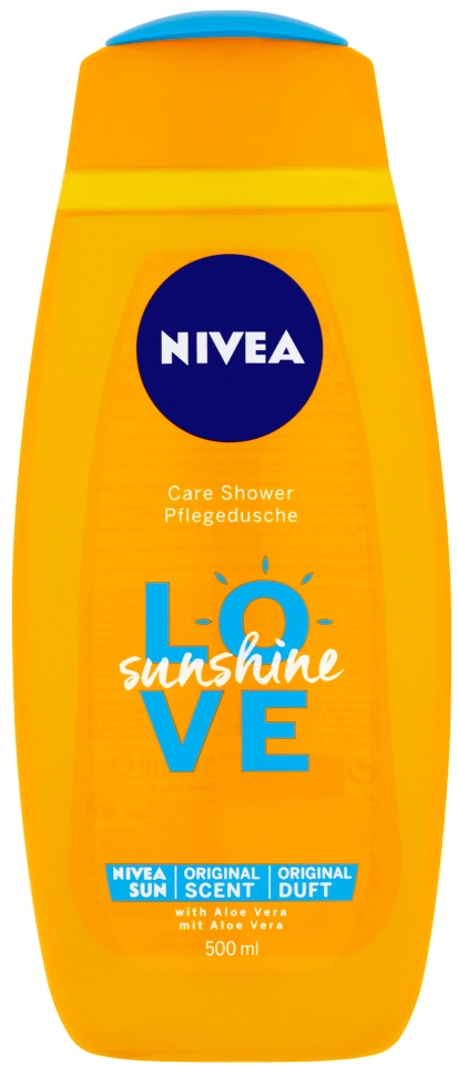 Nivea Sprchový gél Sunshine Love 500ml
