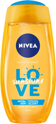 Nivea Sprchový gél Sunshine Love 250ml