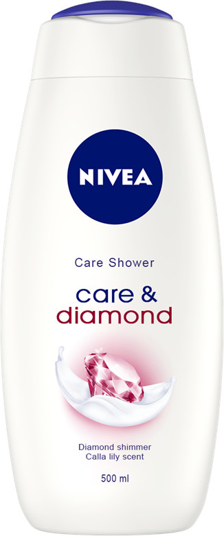 Nivea Sprchový gél Diamond Touch 500ml