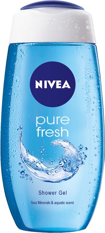 Nivea Sprchový gél Fresh Pure 250ml