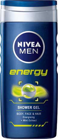 Nivea Men Sprchový gél Energy 250ml