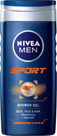 Nivea Men Sprchový gél Sport 250ml