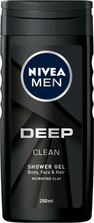 Nivea Sprchový gél Men Deep 250ml