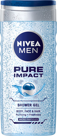 Nivea Men Sprchový gél Pure Impact 250ml