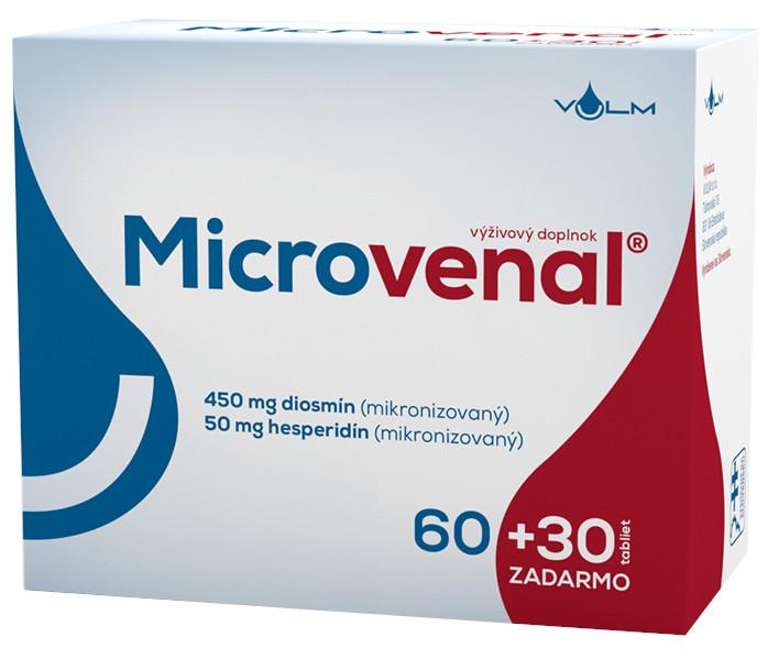 VULM Microvenal 60+30 tbl zadarmo