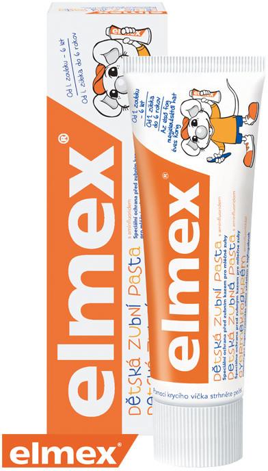 ELMEX Zubná pasta detská s aminfluoridmi 0-6 rokov 50ml