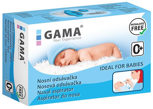 GAMA Nosová odsávačka modrá 1 ks
