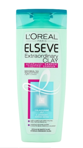 Elseve Extraordinary Clay šampón 250ml