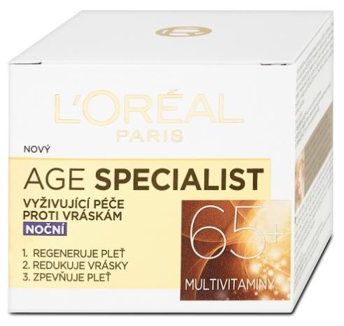 L'Oréal Paris Age Specialist 65+ nočný krém 50ml