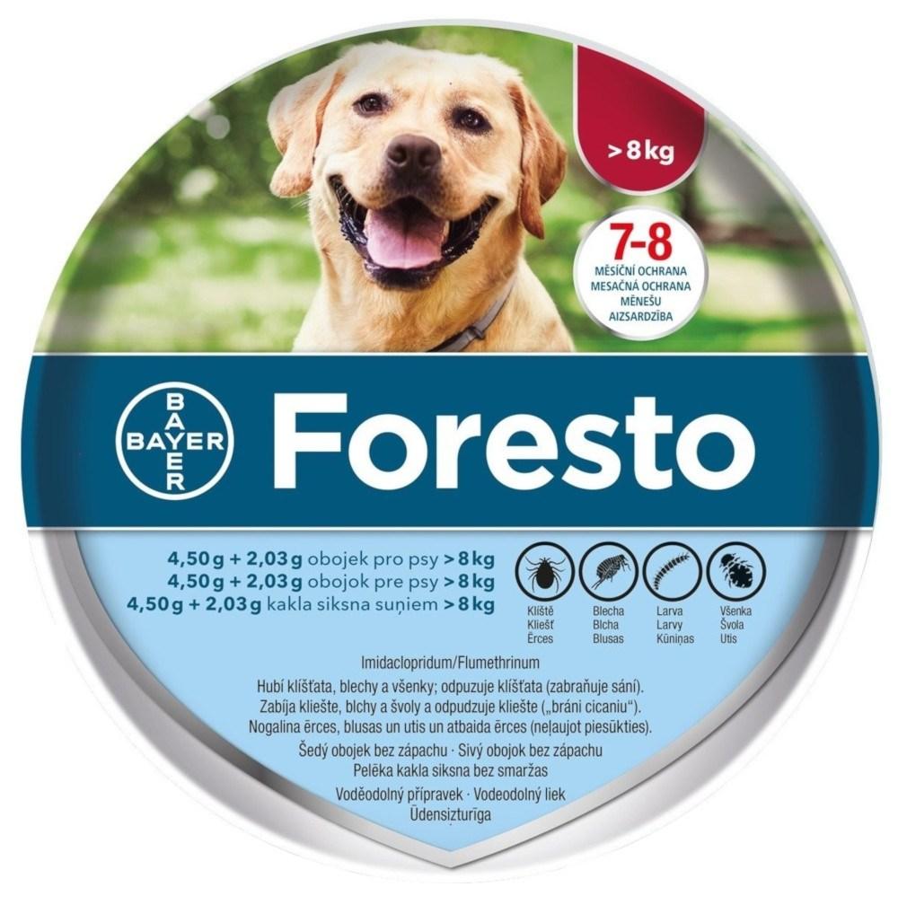 Foresto obojok pre psy nad 8kg (70cm) 1ks