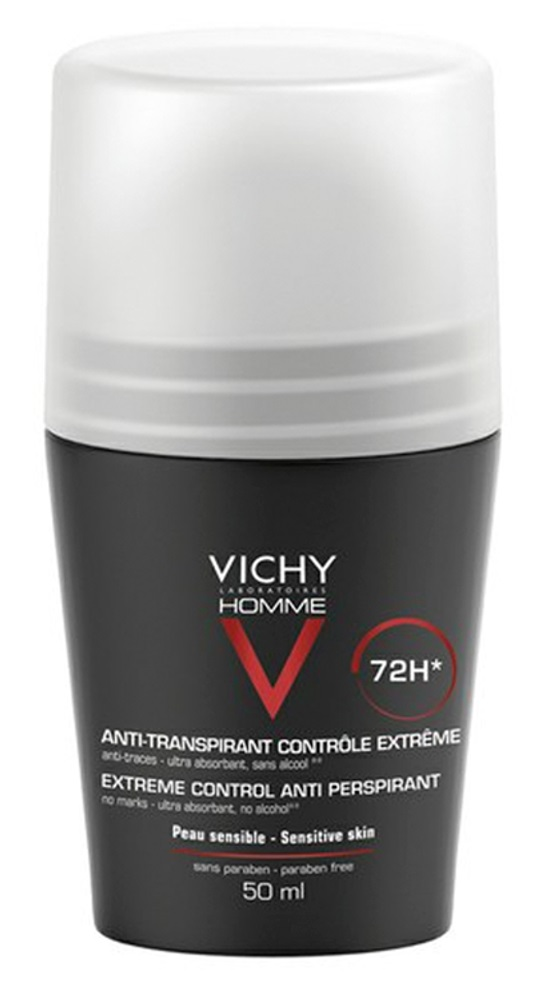 Vichy Homme Deo Roll-On 50ml