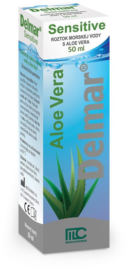 Delmar Sensitive nosový sprej s Aloe Vera 50ml