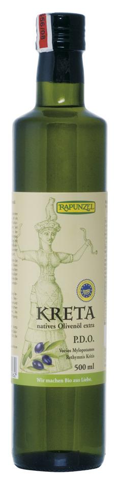 Rapunzel Extra panenský Krétsky olivový olej 500ml