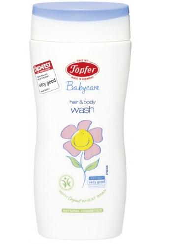 Topfer Vlasový a telový šampón, výnimočne jemný 200ml
