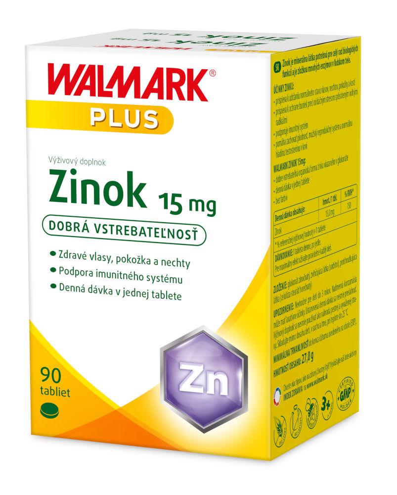 Walmark Zinok 15mg 90 tabliet