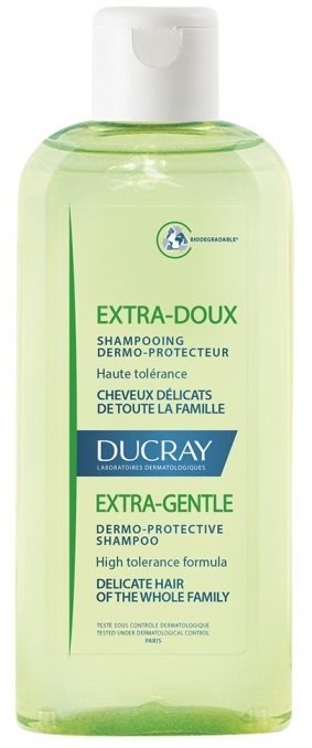 DUCRAY EXTRA-DOUX Veľmi jemný šampón na časté umývanie vlasov 200ml