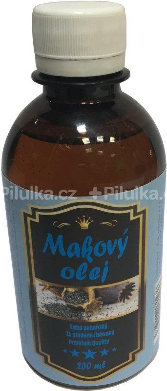 Extra panenský makový olej v plaste 250ml