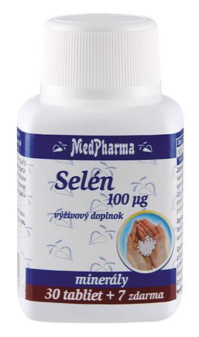 MedPharma Selén 100mcg 30+7tbl zadarmo