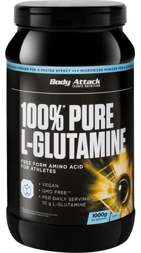Body Attack 100% Pure L-Glutamine 1000g