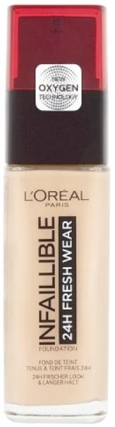 L'Oréal Paris Infallible 24H 015-Porcelain make-up 30ml