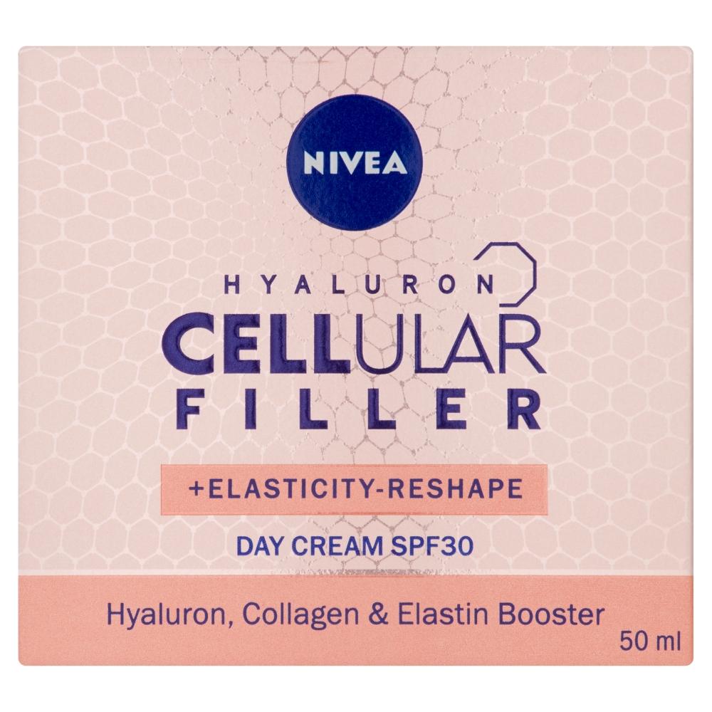 Nivea Remodelačný denný krém Hyaluron Cellular Filler, 50ml