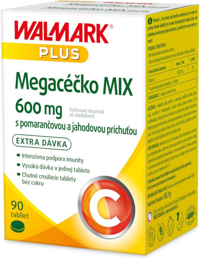 Walmark Megacéčko MIX 600mg 90 tabliet