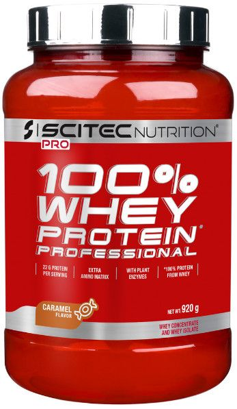 Scitec Nutrition 100% Whey Protein Professional 920g Vanilka