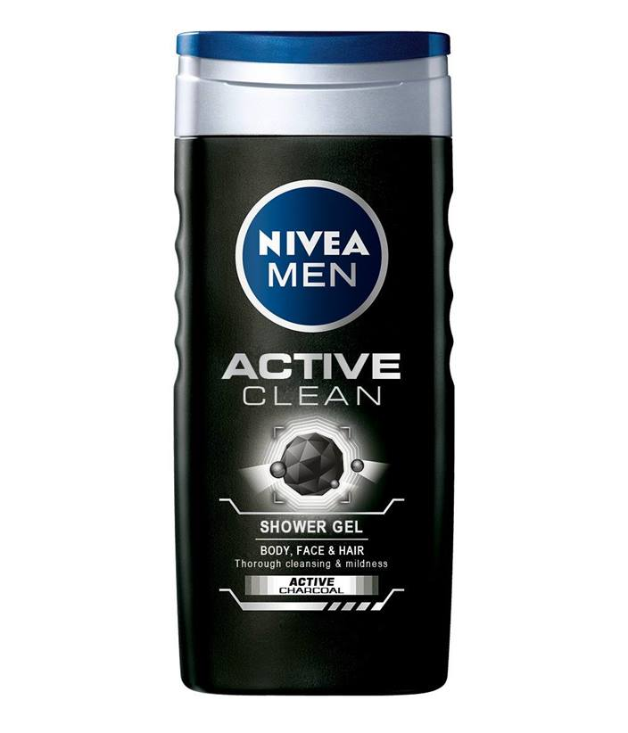 NIVEA MEN SPRCHOVÝ GÉL Active Clean 250 ml
