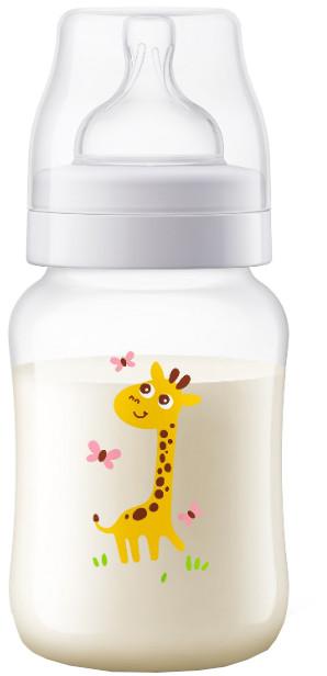Philips Avent Flaša Anti-colic Žirafa 260ml