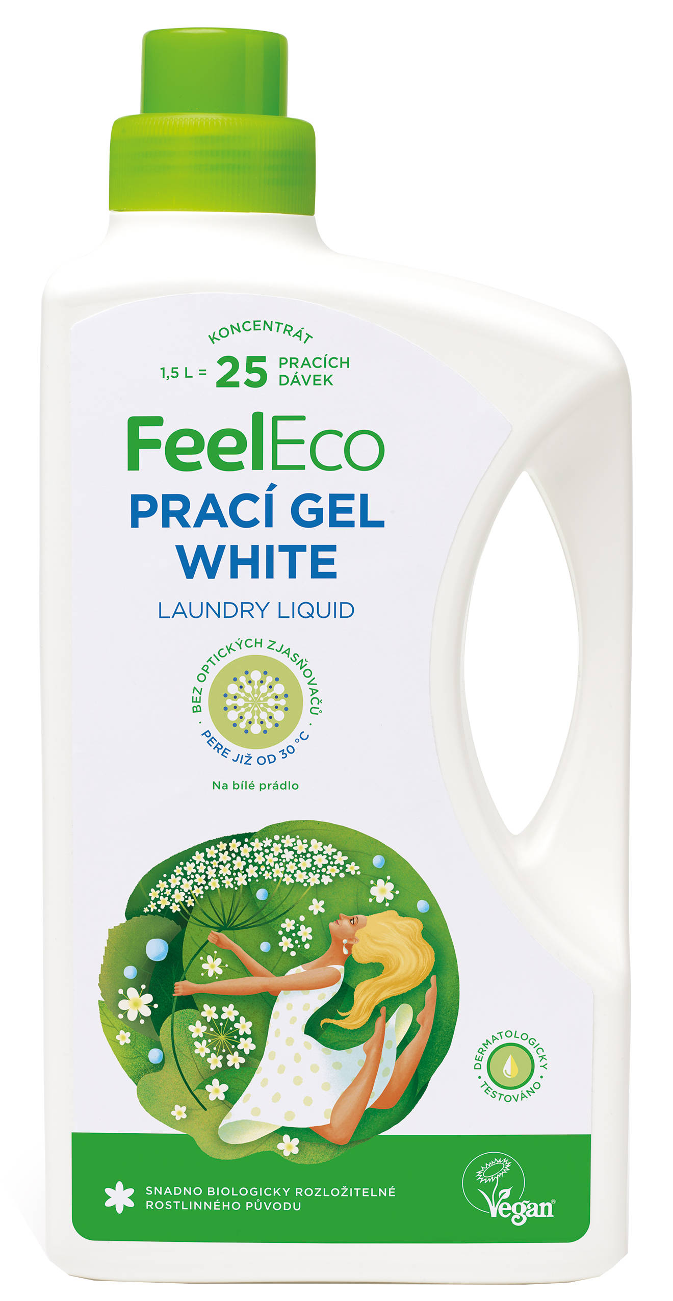 Feel Eco prací gél white 1,5l