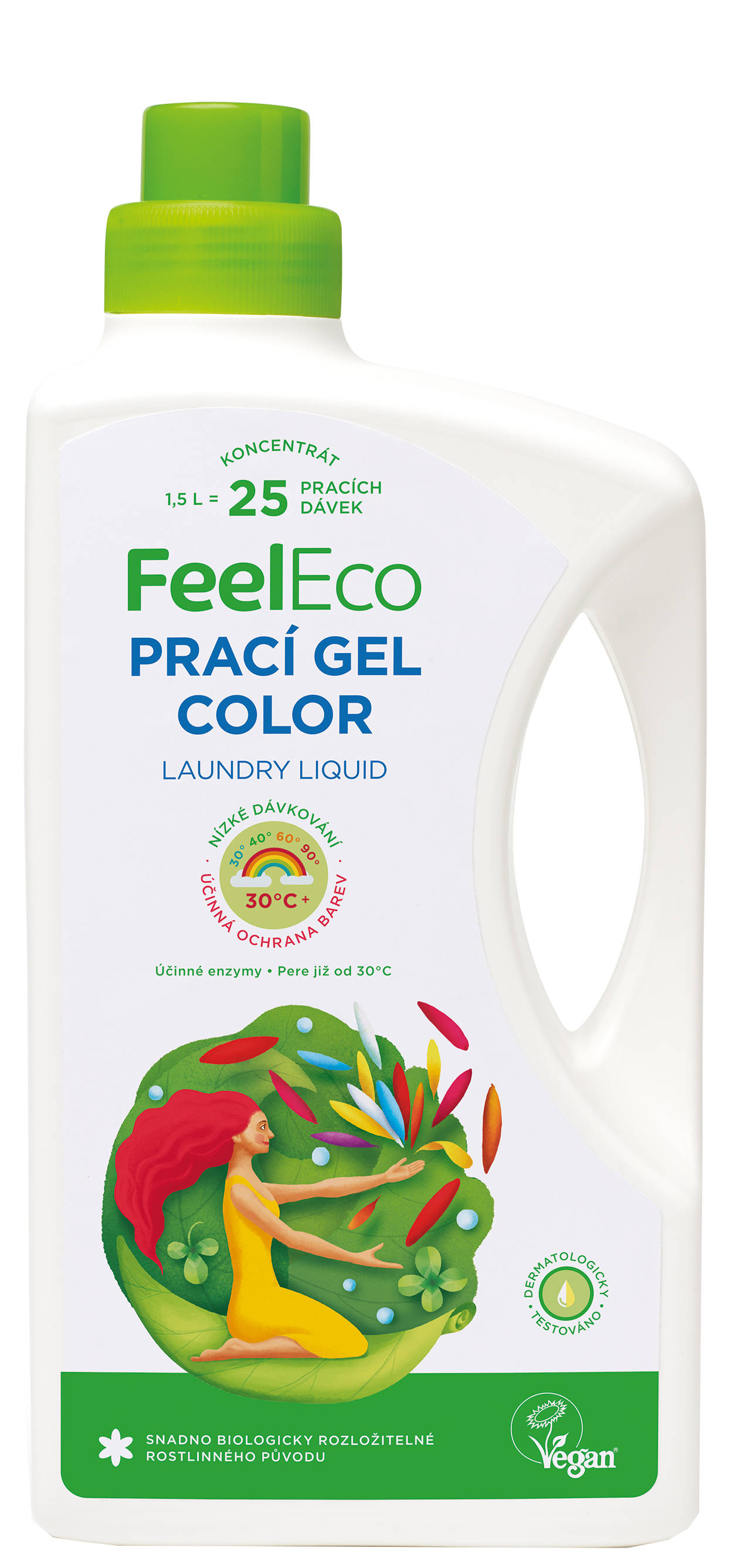 Feel Eco prací gél color 1,5l