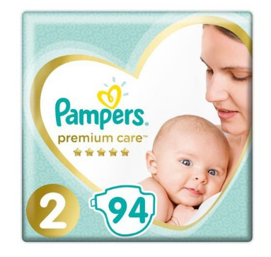 Pampers Premium Care S2 94ks, 4kg-8kg