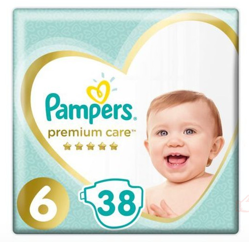 Pampers Premium Care S6 38ks, 13+kg