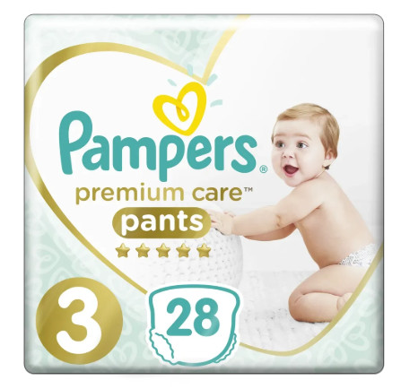 Pampers Premium Care Pants S3 (6-11kg) 28ks