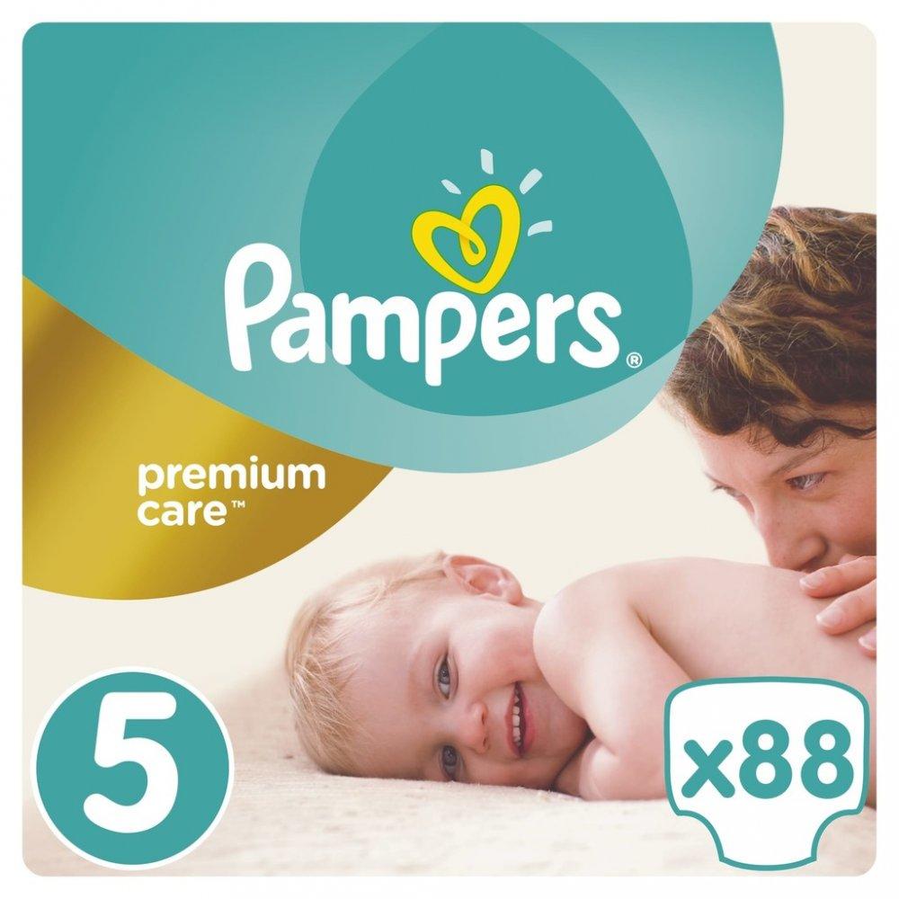 Pampers Premium Care 5 Junior (11-16kg) Jumbo Pack 88ks