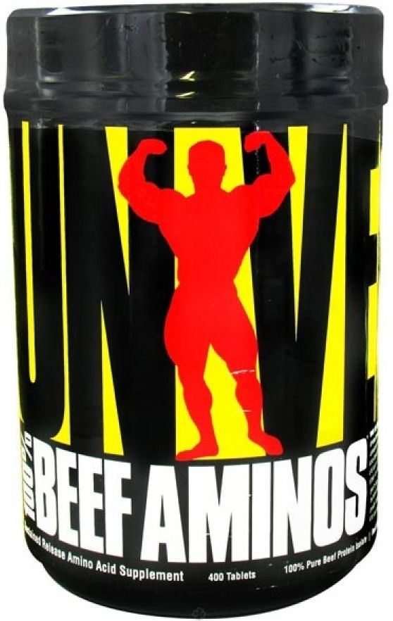 100 percent Beef Aminos - Universal Nutrition 200 tab unflavored