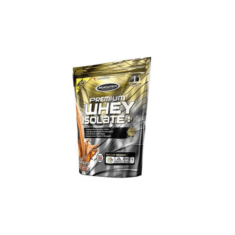 Muscletech 100% PREMIUM WHEY ISOLATE PLUS 1360 g deluxe chocolate - 1380 g