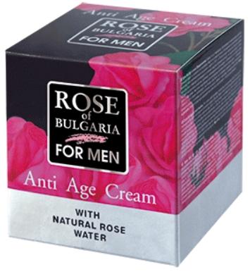 Biofresh Krém proti vráskam z ružovej vody pre mužov 50ml