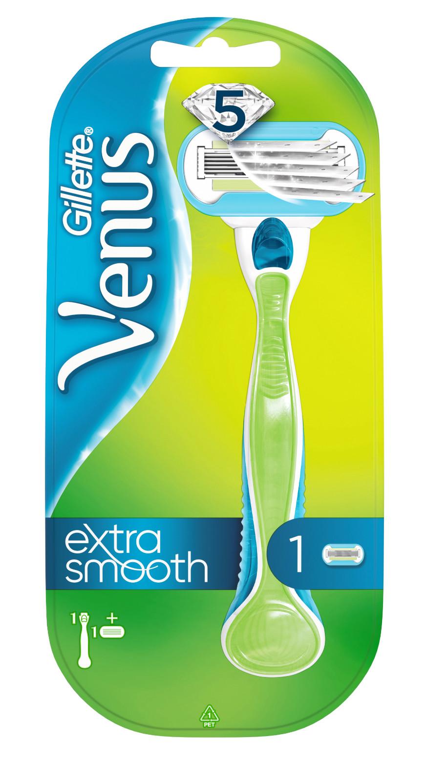 Venus Embrace Extra smooth Strojček + 1 náhradná hlavica