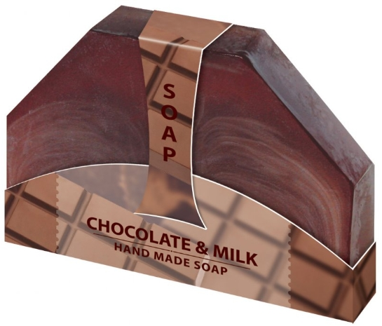 Biofresh Glycerinové mydlo mliečna čokoláda ručne vyrabané 80g